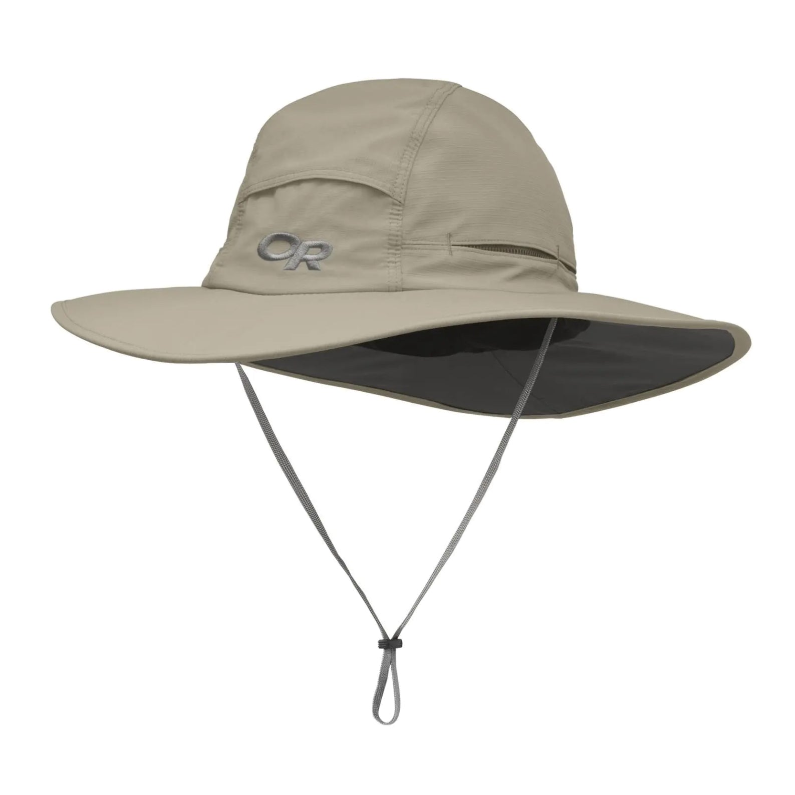 outdoor research sombriolet sun hat in khaki