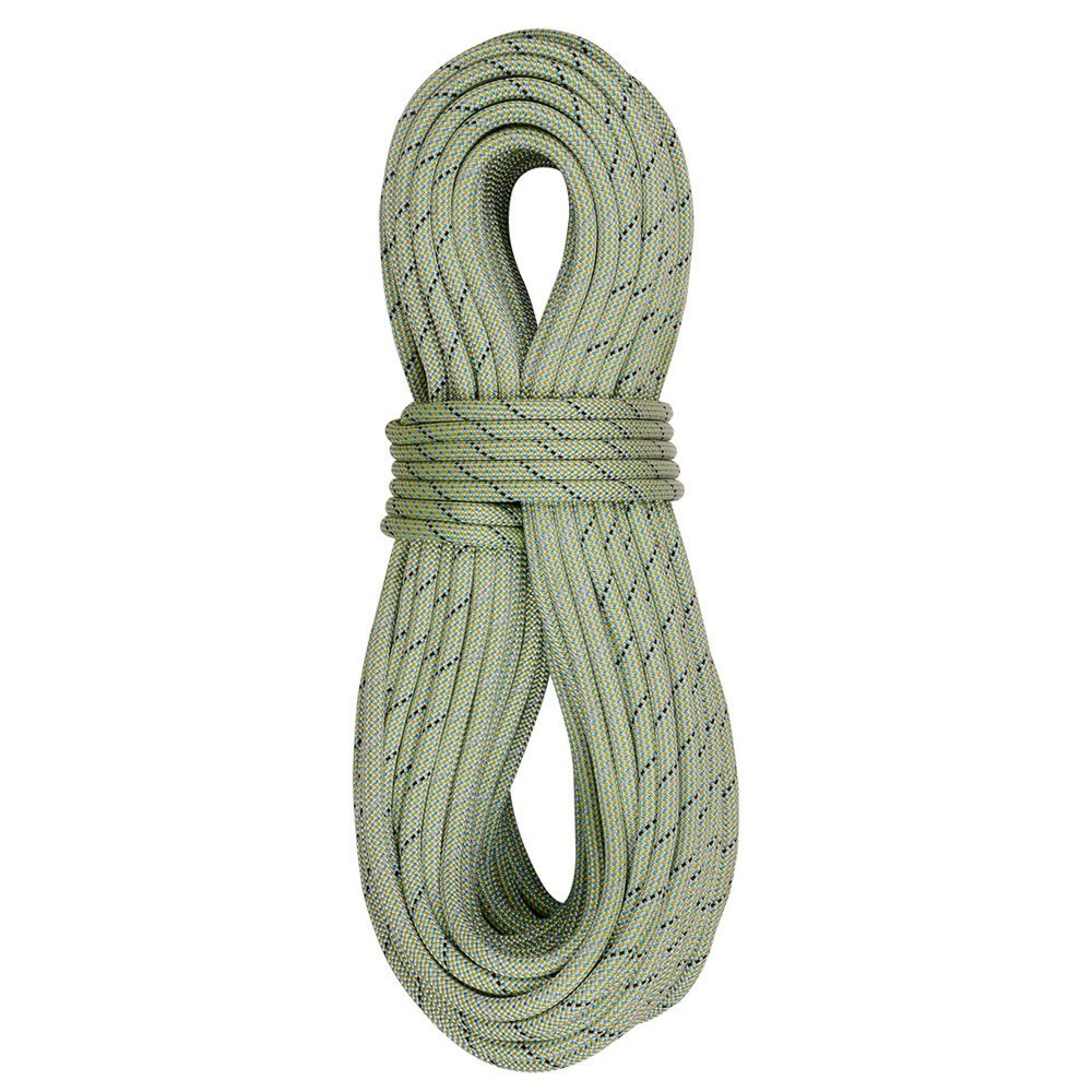 edelrid tommy caldwell DT 9.6 80m rope in green
