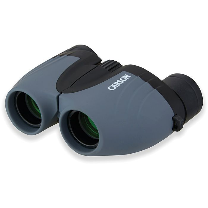 carson tracker 8x21 binocular, grey and black