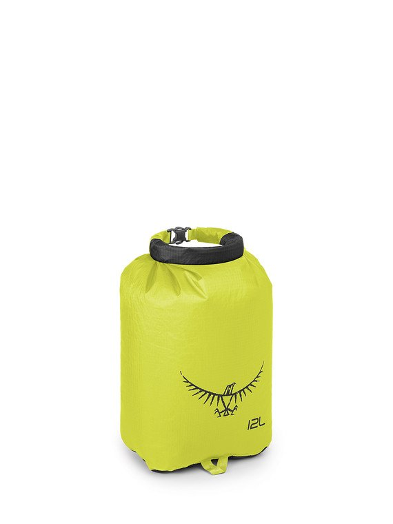 12L Ultralight Dry Sack in Electric Lime