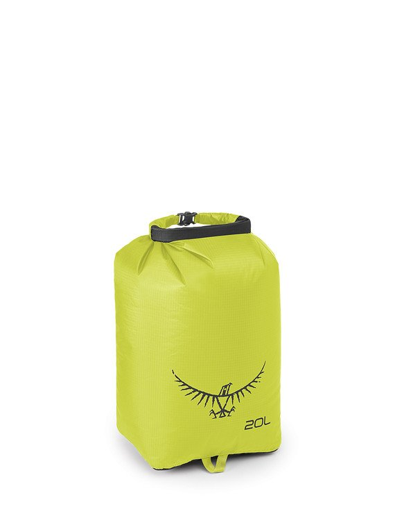 20L Ultralight Dry Sack in Electric Lime