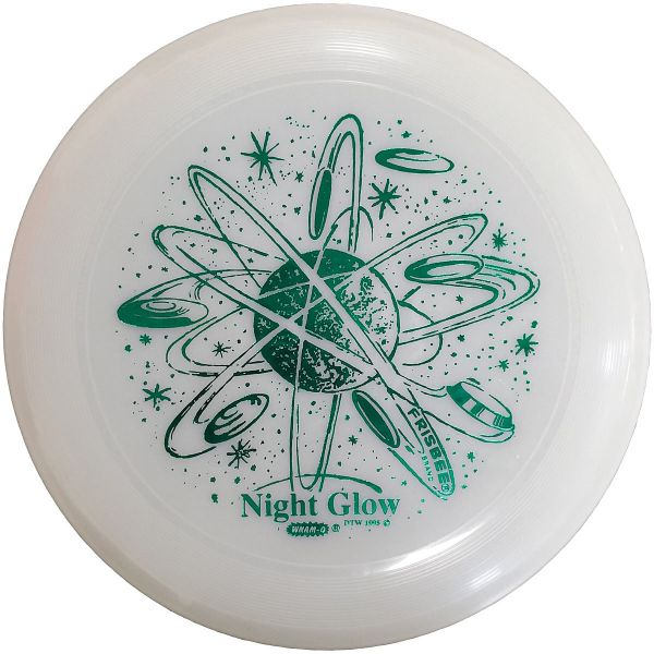 wham-O glow in the dark frisbee, 10 7/8""