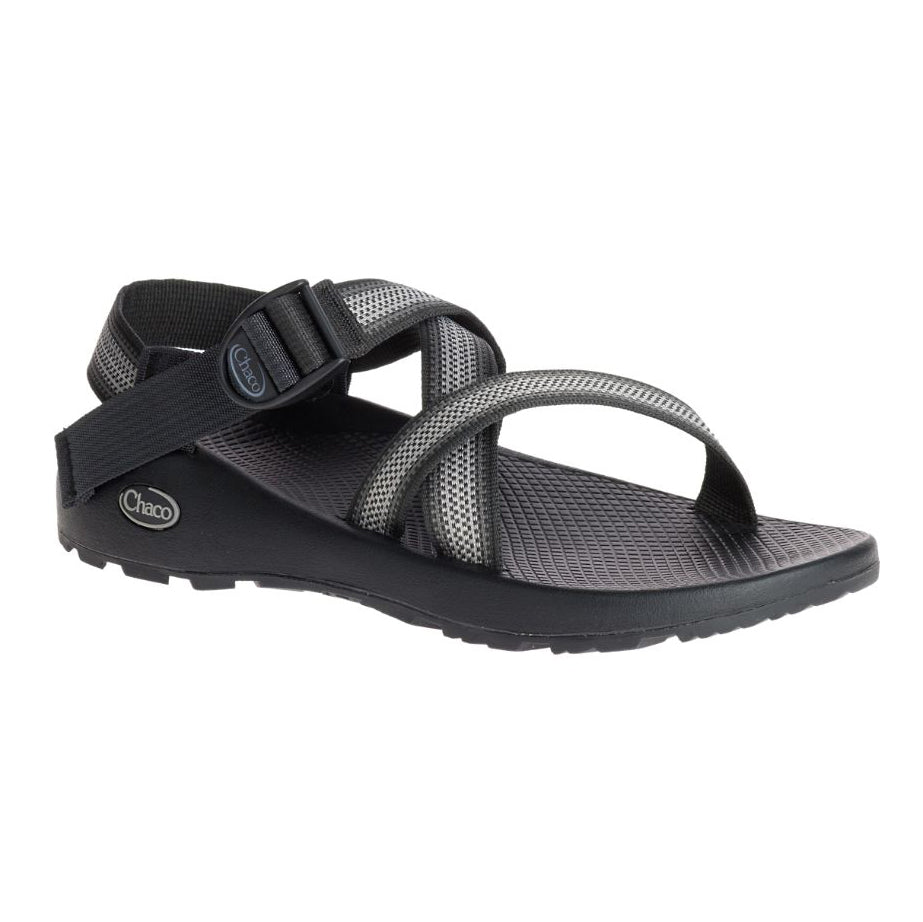chacos z/1 classic sandals mens in split grey three quarter view
