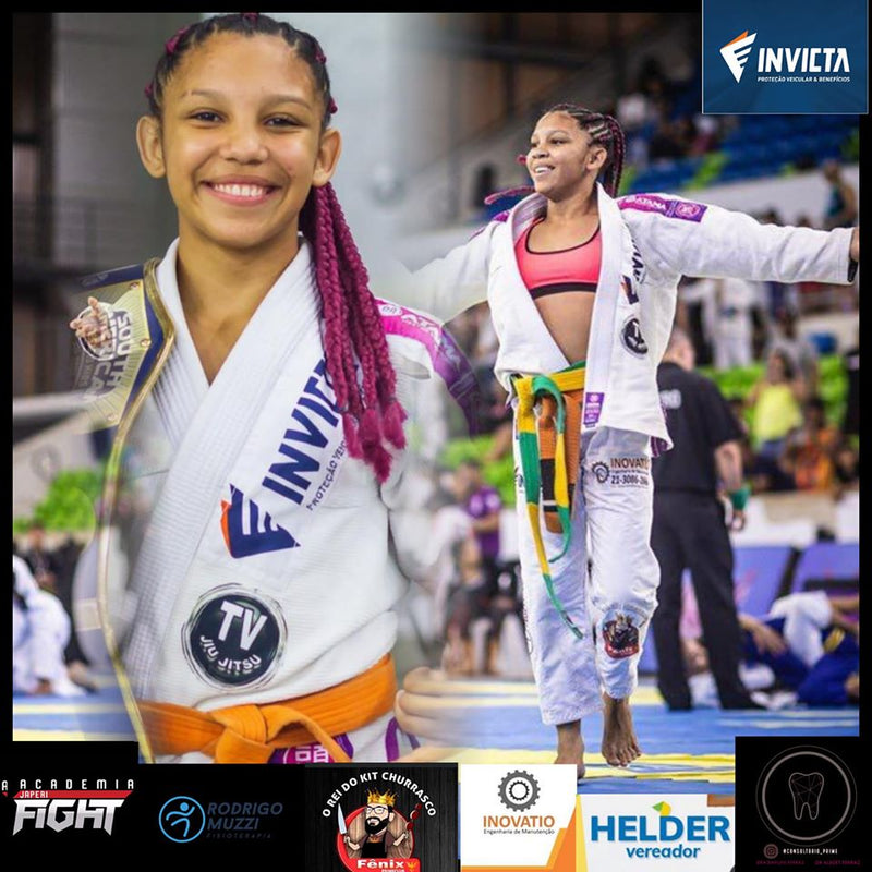 Young and Lethal: Ingrid Guedes becomes 3x Brazilian National AND Pan American Champion.