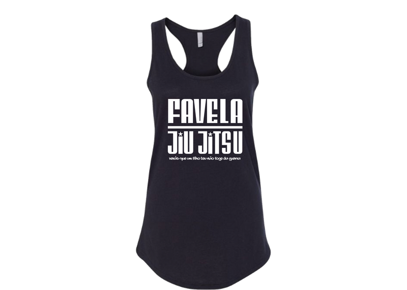 Favela Jiu Jitsu War Ready Women's Racer Back Tank Top