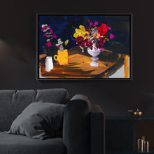 Load image into Gallery viewer, Minuit et Fleurs (Midnight & Flowers)