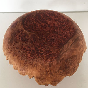 Mallee Burl Curved Bowl by Lee Wilson