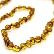 Load image into Gallery viewer, Honey Baltic Amber Beads Necklace