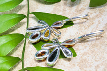 Load image into Gallery viewer, Multi Baltic Amber Flower Earrings