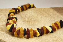 Load image into Gallery viewer, Raw Multi Baltic Amber Chips Necklaces