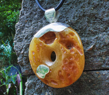 Load image into Gallery viewer, Raw Butterscotch Baltic Amber Pendant