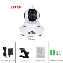 Cargar imagen en el visor de la galería, Hiseeu 1080P 1536P IP Camera Wireless Home Security Camera Surveillance Camera Wifi Night Vision CCTV Camera 2mp Baby Monitor