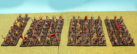 Pro-Painted 15mm Saxon Army-BASED to YOUR SPECIFICATIONS!