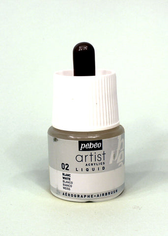 317002 WHITE 45ML ACRYLIC LIQUID INK