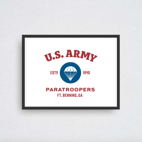 U.S. Army Paratroopers - Ft. Benning GA
