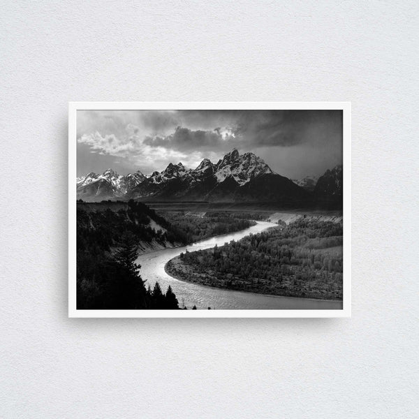 Ansel Adams: Tetons and the Snake River