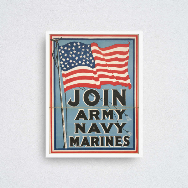 Join Army, Navy, Marines!
