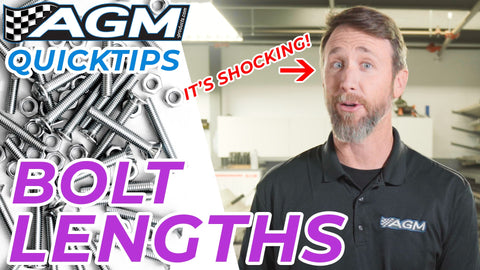 This is a MUST KNOW When Building Your Car! | AGM Quick Tip on Bolt Lengths