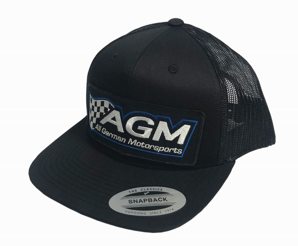 Black Snap Back Hat | AGM-Products | Work Smart, Play Hard