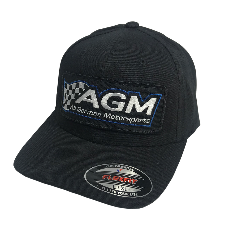 Black FlexFit Hat | AGM-Products | Work Smart, Play Hard