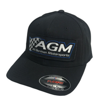 Load image into Gallery viewer, Black FlexFit Hat | AGM-Products | Work Smart, Play Hard