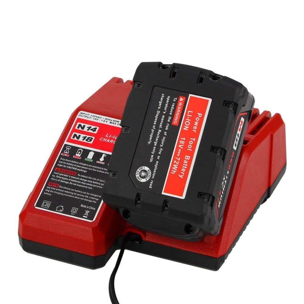 Milwaukee AC/DC Battery Charger | AGM-Products | Work Smart, Play Hard