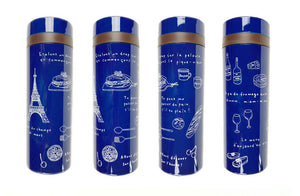 Slim Pocket Bottle Navy