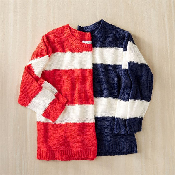 TOMMY STRIPED PULLOVER