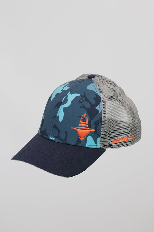 Water Camo Trucker Hat
