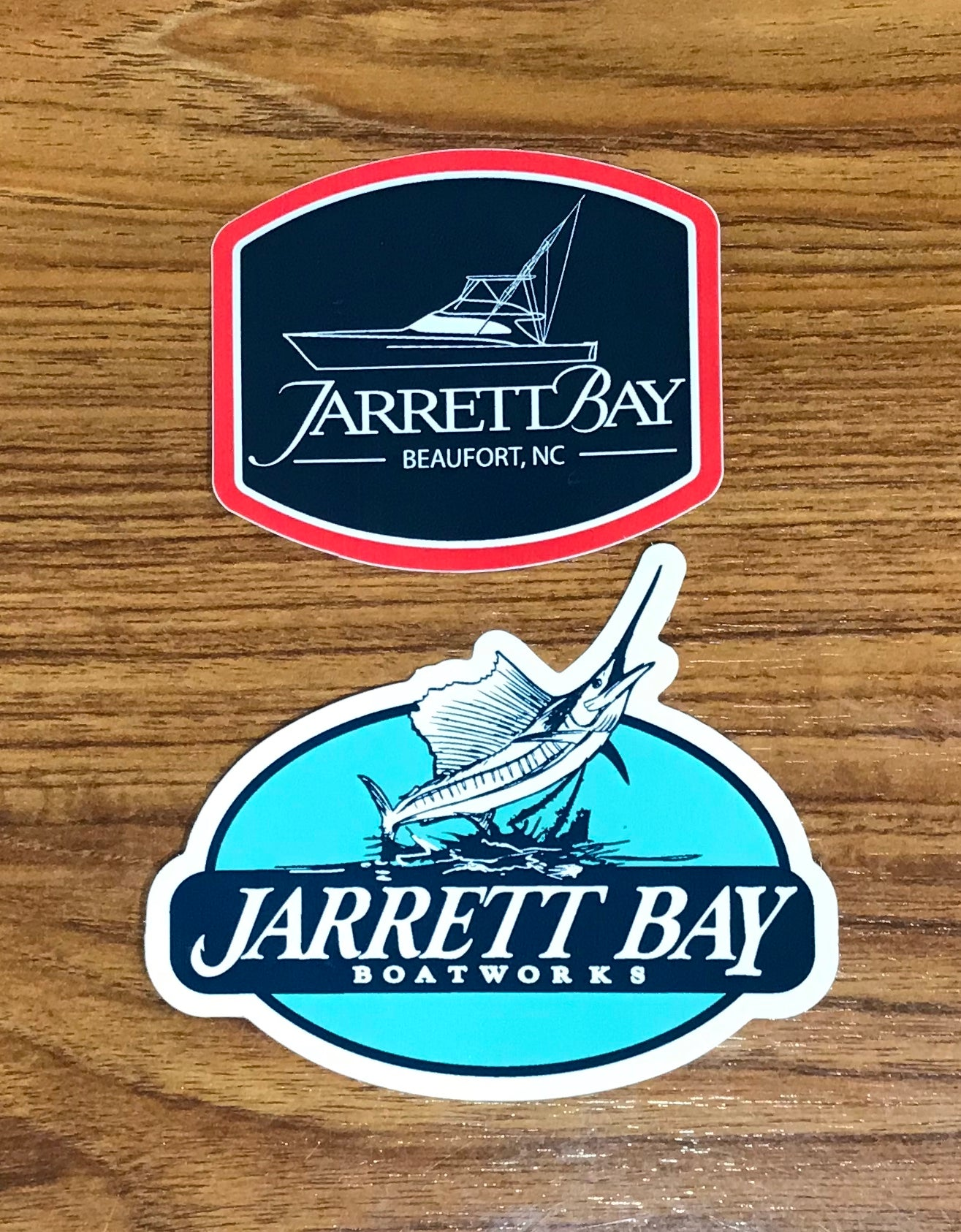 Jarrett Bay Dye Cut Decals