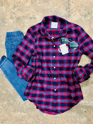 Taylors Creek Flannel Shirt