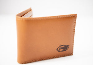 Jarrett Bay Embossed Leather Wallet
