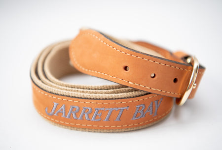 Jarrett Bay Embroidered Belt