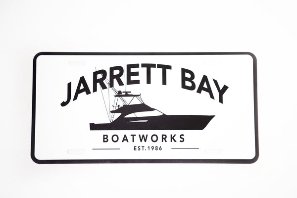 Jarrett Bay Profile License Plate