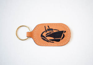 Jarrett Bay Leather Key Chain
