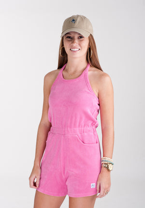 Ladies Terry Romper