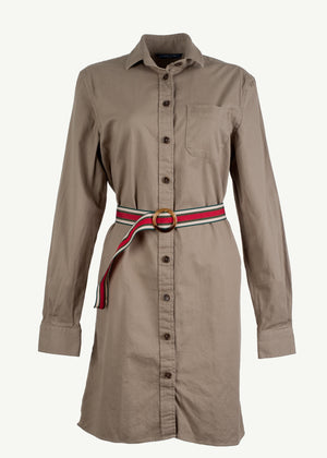 Tiff Crew Shirtdress