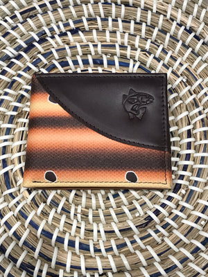 REDFISH BIFOLD LEATHER WALLET