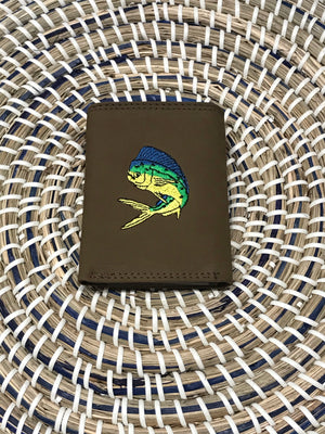 Dolphin tri fold action wallet