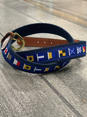 Code Flags Belt