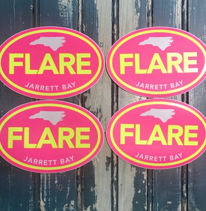 Jarrett Bay Flare Decal
