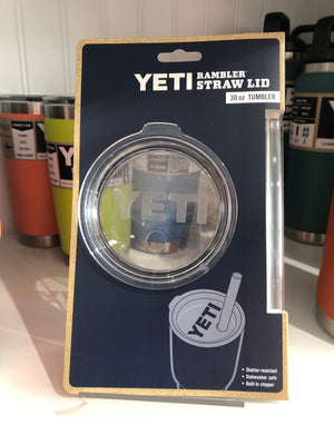 Yeti Rambler 30 oz Lid with Straw