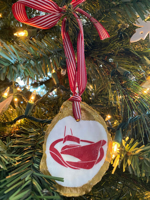 Classic Logo Oyster Ornament