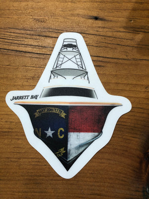 JB NC Flare Hull Decal