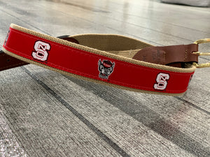 NC STATE RIBBON BELT