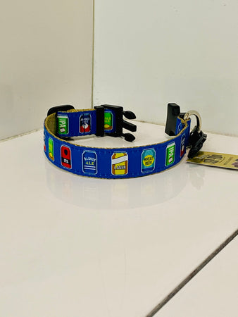 Beer Can Dog Collar