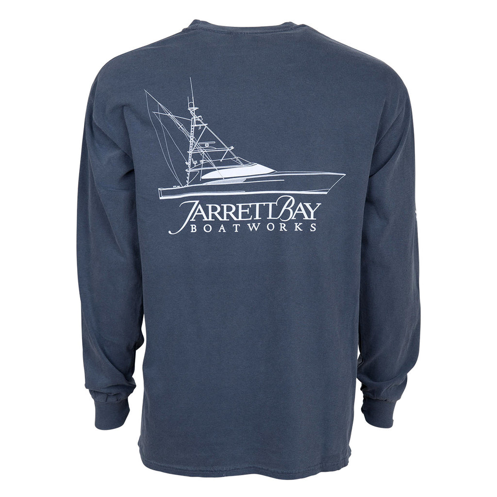 Line Drawing Shirt : Dancing marlin long sleeve t shirt jarrett bay