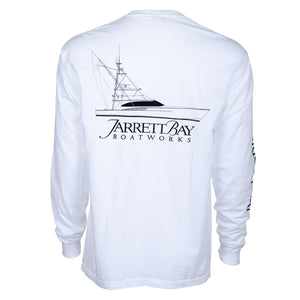 77 Line Drawing Long Sleeve T-Shirt