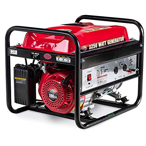 All Power America APG3012 3250 Watt Portable Generator Gas Powered, Compact Design