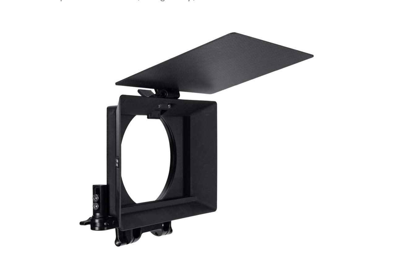 Wooden Camera Zip Box Pro 4x5.65 Matte Box with Swing Away Bracket
